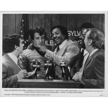 ROCKY Photo de presse RY-2 - 20x25 cm. - 1976 - Sylvester Stallone, John G. Avildsen