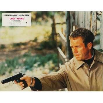 THE GETAWAY Original Lobby Card - 9x12 in. - 1972 - Sam Peckinpah, Steve McQueen