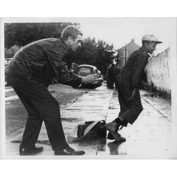 LE KID DE CINCINATTI Photo de presse - 20x25 cm. - 1965 - Steve McQueen, Norman Jewison