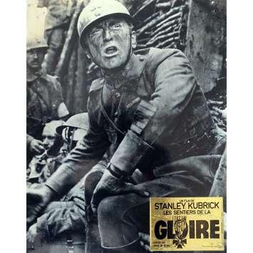 LES SENTIERS DE LA GLOIRE Photo de film - 24x30 cm. - 1957 - Kirk Douglas, Stanley Kubrick