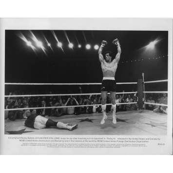 ROCKY III 3 Photo de presse RIII-15 - 20x25 cm. - 1982 - Mr. T, Sylvester Stallone