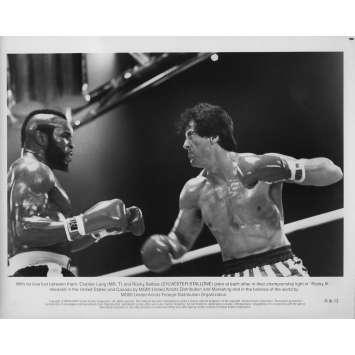 ROCKY III 3 Photo de presse RIII-13 - 20x25 cm. - 1982 - Mr. T, Sylvester Stallone