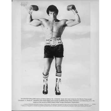 ROCKY III 3 Photo de presse RIII-1 - 20x25 cm. - 1982 - Mr. T, Sylvester Stallone