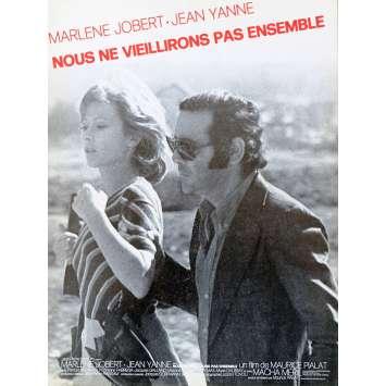 BREAK UP French Herald 2p 9x12 - 1972 - Maurice Pialat, Jean Yanne