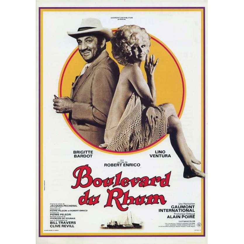 RUM RUNNERS French Herald 9x12 - 1971 - Robert Enrico, Lino Ventura, Brigitte Bardot