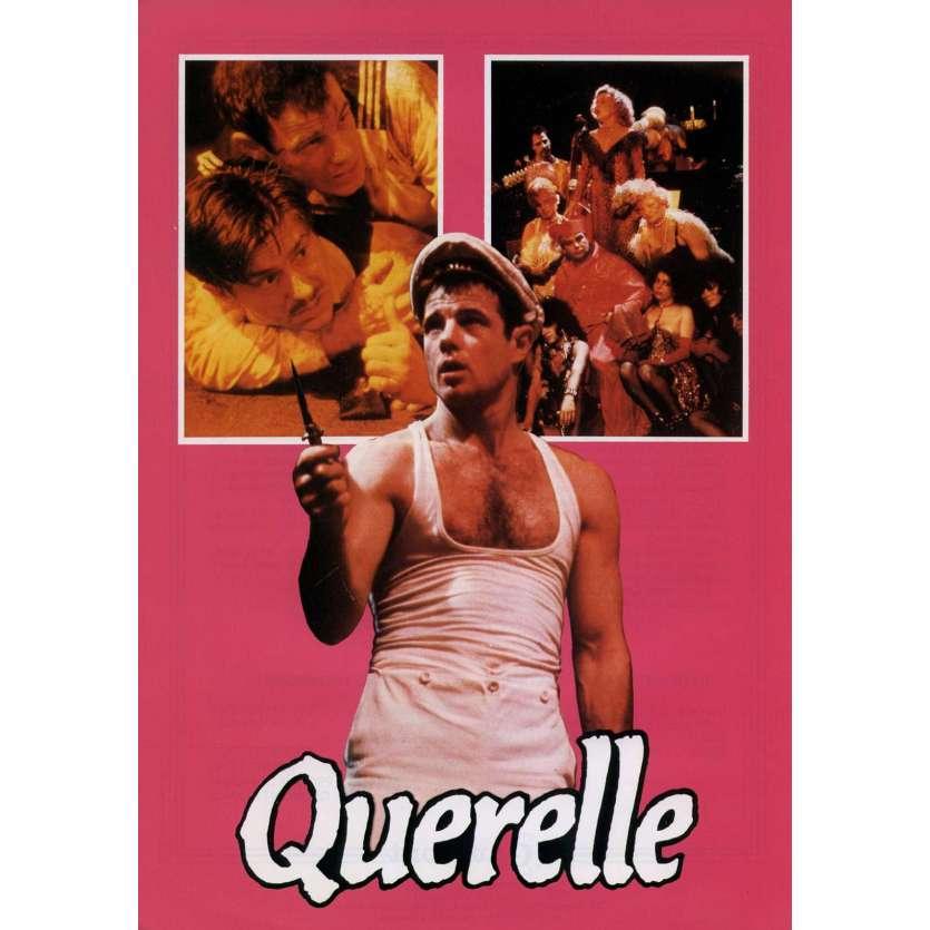 QUERELLE French Herald 9x12 - 1982 - R. W. Fassbinder, Brad Davis