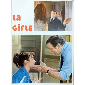 THE SLAP French Herald 6p 9x12 - 1974 - Claude Pinoteau, Lino Ventura
