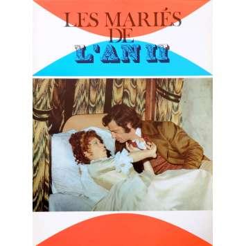 LES MARIES DE L'AN DEUX Synopsis 6p 21x30 - 1971 - Jean-Paul Belmondo, Jean-Paul Rappeneau