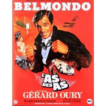 L'AS DES AS Synopsis 4p 21x30 - 1982 - Jean-Paul Belmondo, Gerard Oury