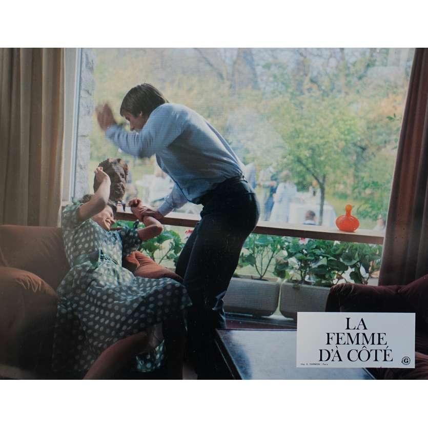 THE WOMAN NEXT DOOR Original Lobby Card N01 - 9x12 in. - 1981 - François Truffaut, Gérard Depardieu
