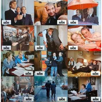 SUGAR SUGAR Original Lobby Cards x12 - 9x12 in. - 1978 - Jacques Rouffio, Gérard Depardieu