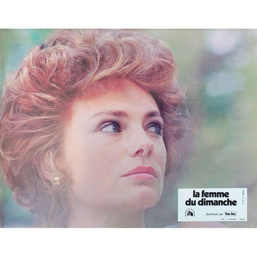 THE Sunday WOMAN Original Lobby Card - 9x12 in. - 1975 - Luigi Comencini, Jacqueline Bisset