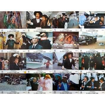 THE MAD ADVENTURES OF RABBI JACOB Original Lobby Cards x16 - Set B - 9x12 in. - 1973 - Gérard Oury, Louis de Funès