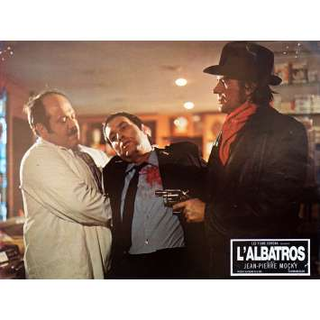 THE ALBATROSS Original Lobby Card N01 - 9x12 in. - 1971 - Jean-Pierre Mocky, Marion Game