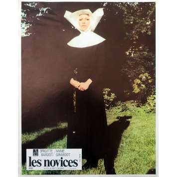 LES NOVICES Photo de film N01 - 21x30 cm. - 1970 - Brigitte Bardot, Claude Chabrol
