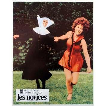 LES NOVICES Original Lobby Card N01 - 9x12 in. - 1970 - Claude Chabrol, Brigitte Bardot