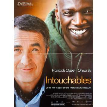 THE INTOUCHABLES Original Movie Poster - 15x21 in. - 2011 - Olivier Nakache, Éric Toledano , Omar Sy