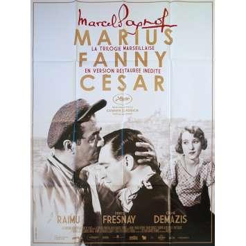 Marius Marcel Pagnol Raimu Fresnay cult movie poster print
