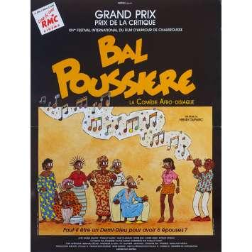 BAL POUSSIERE Original Movie Poster - 15x21 in. - 1989 - Henri Duparc, Bamba Bakari