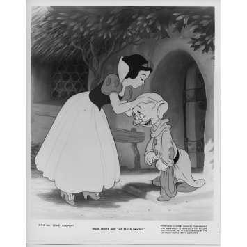 BLANCHE NEIGE ET LES 7 NAINS Photo de presse N08 20x25 cm - R1975 - Walt Disney, Walt Disney