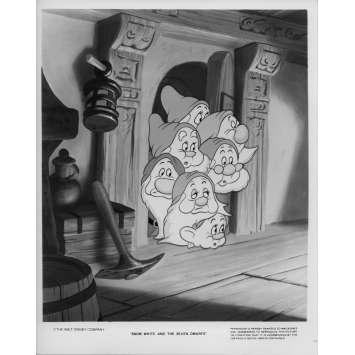 BLANCHE NEIGE ET LES 7 NAINS Photo de presse N7 20x25 - R1970 - Walt Disney, Walt Disney