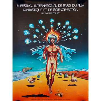FESTIVAL DU FILM FANTASTIQUE DE PARIS 1977 Original Movie Poster - 23x32 in. - 1977 - 0, 0