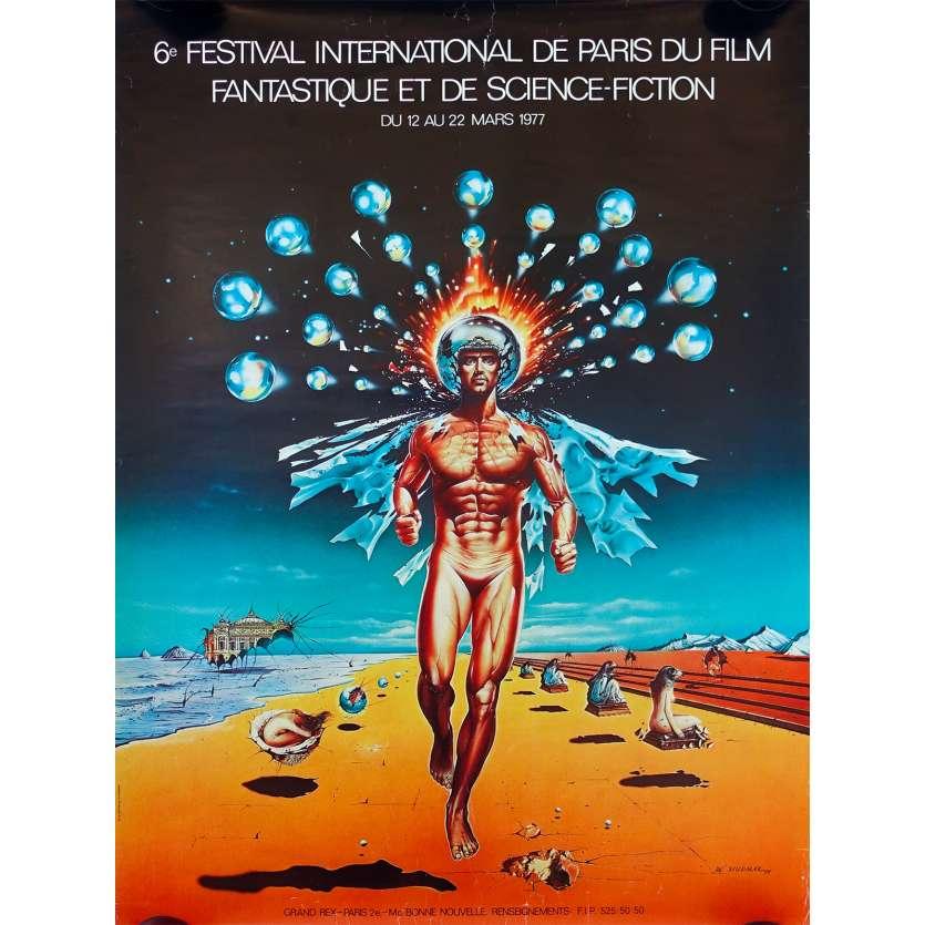 FESTIVAL DU FILM FANTASTIQUE DE PARIS 1977 Affiche de film - 60x80 cm. - 1977 - 0, 0
