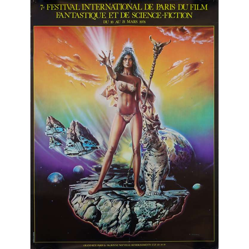 FESTIVAL DU FILM FANTASTIQUE DE PARIS 1978 Original Movie Poster - 23x32 in. - 1978 - 0, 0