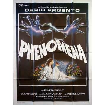 PHENOMENA Affiche de film - 100x140 cm. - 1985 - Jennifer Connely, Dario Argento