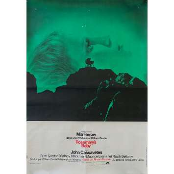 ROSEMARY'S BABY Affiche de film - 40x60 cm. - 1968 - Mia Farrow, Roman Polanski