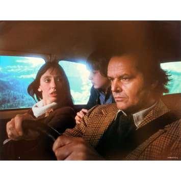 THE SHINING Original Lobby Card N1 - 11x14 in. - 1980 - Stanley Kubrick, Jack Nicholson