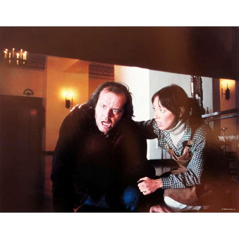 THE SHINING Original Lobby Card N9 - 11x14 in. - 1980 - Stanley Kubrick, Jack Nicholson