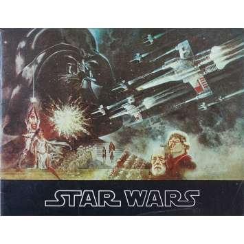 STAR WARS - LA GUERRE DES ETOILES Programme - 21x30 cm. - 1977 - Harrison Ford, George Lucas