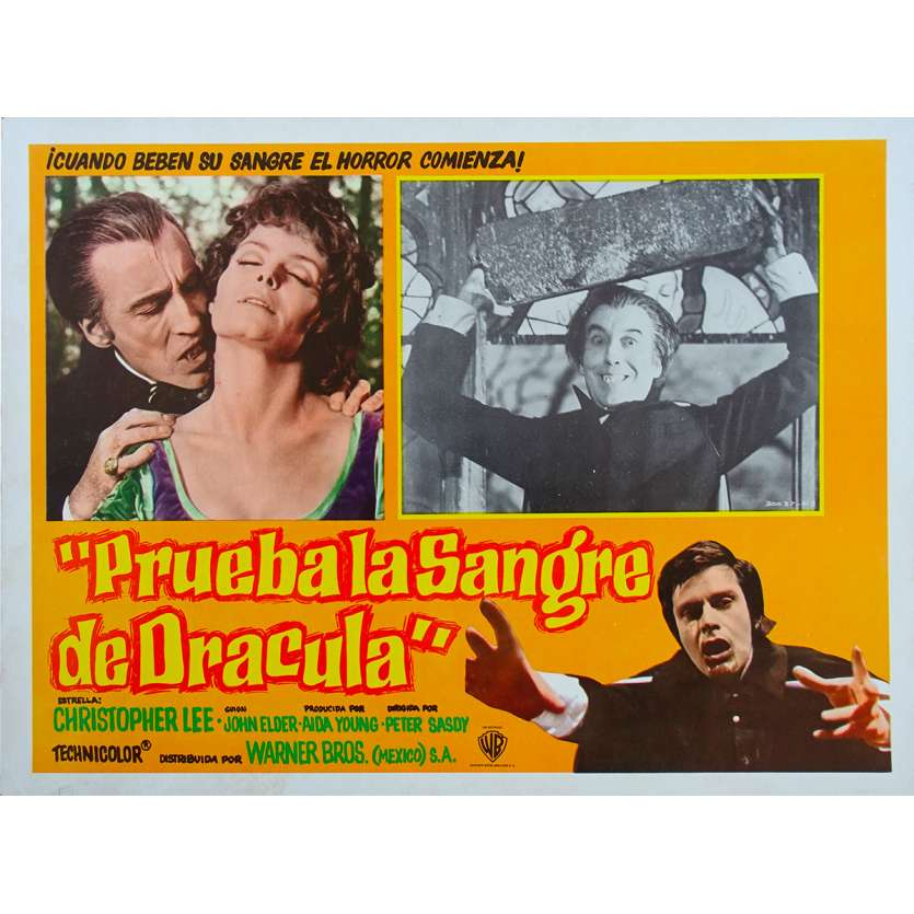 UNE MESSE POUR DRACULA Photo de film - 32x42 cm. - 1970 - Christopher Lee, Peter Sasdy