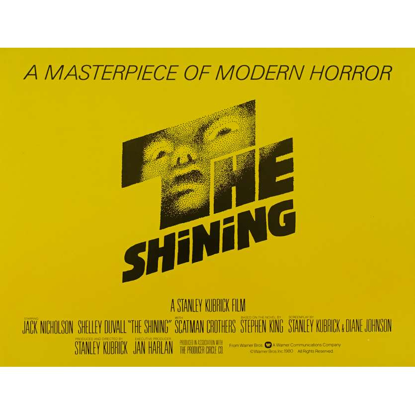SHINING US Lobby Card 5 11x14 - 1980 - Stanley Kubrick, Jack Nicholson