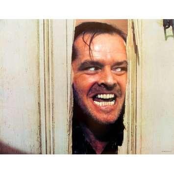 THE SHINING Original Lobby Card N8 - 11x14 in. - 1980 - Stanley Kubrick, Jack Nicholson