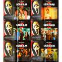 SCREAM 2 Italian Lobby Card Set - 13x20 - 1996 - Wes Craven, Courtney Cox