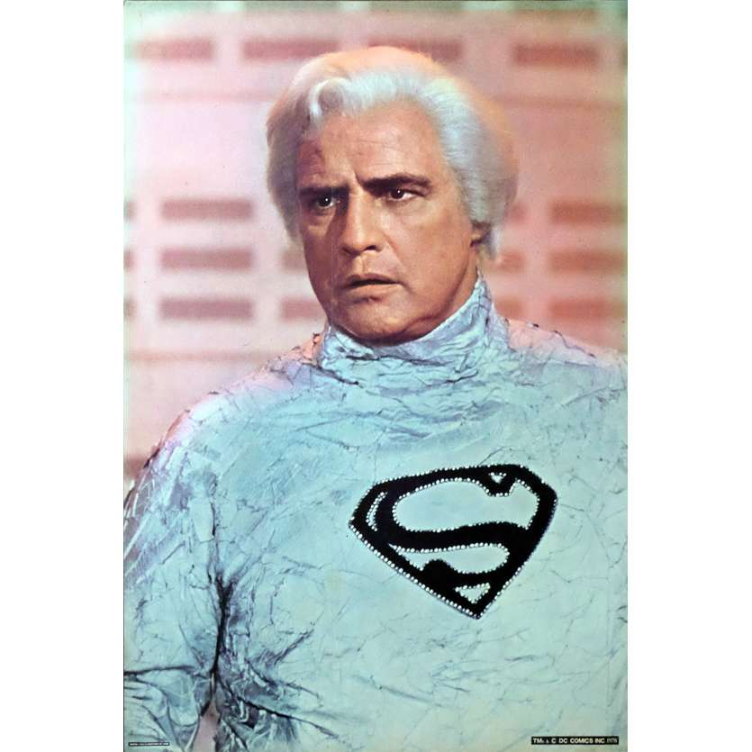 SUPERMAN Photo géante N3 76x51 - 1978 - Christopher Reeves, Richard Donner