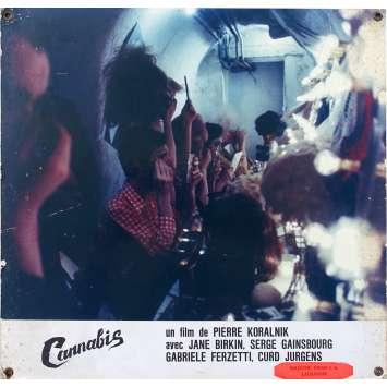 CANNABIS Photo de film N01 - 24,34,5 cm. - 1970 - Jane Birkin, Serge Gainsbourg