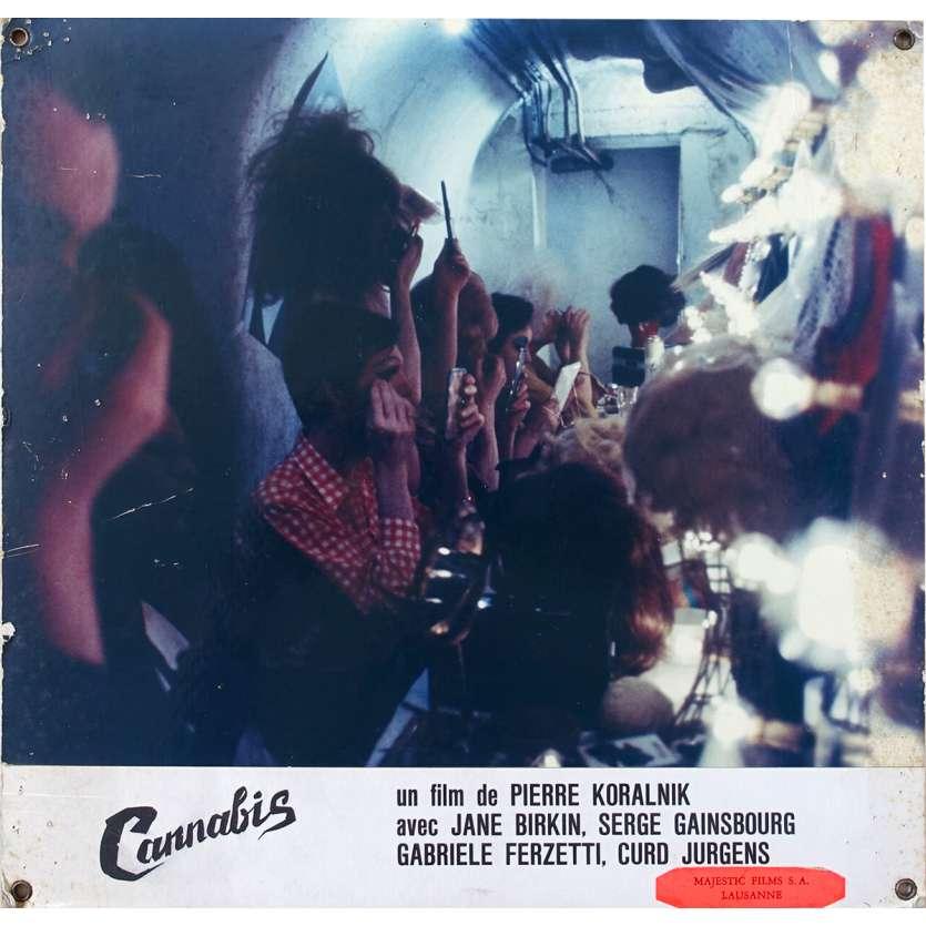 CANNABIS Original Lobby Card N01 - 9,5x13,5 in. - 1970 - Serge Gainsbourg, Jane Birkin