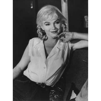 LES DESAXES Photo de presse N02 - 18x24 cm. - R1970 - Marilyn Monroe, John Huston
