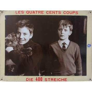 THE 400 BLOWS Original Lobby Card N02 - 14x18 in. - 1959 - François Truffaut, Jean-Pierre Léaud
