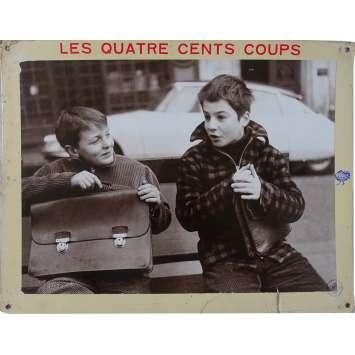 THE 400 BLOWS Original Lobby Card N03 - 14x18 in. - 1959 - François Truffaut, Jean-Pierre Léaud