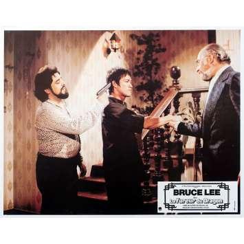 THE WAY OF THE DRAGON Original Lobby Card N02 - 9x12 in. - 1974 - Bruce Lee, Bruce Lee, Chuck Norris