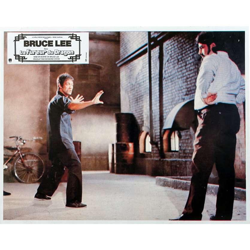 THE WAY OF THE DRAGON Original Lobby Card N03 - 9x12 in. - 1974 - Bruce Lee, Bruce Lee, Chuck Norris