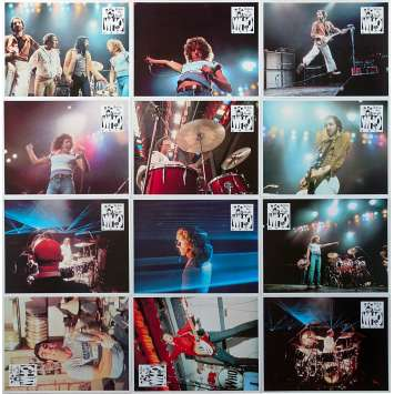THE WHO : THE KIDS ARE ALRIGHT Photos de film x12 - 21x30 cm. - 1979 - Roger Daltrey, Pete Townshend, Jeff Stein