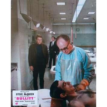 BULLITT Original Lobby Card N01 - 9x12 in. - 1968 - Peter Yates, Steve McQueen