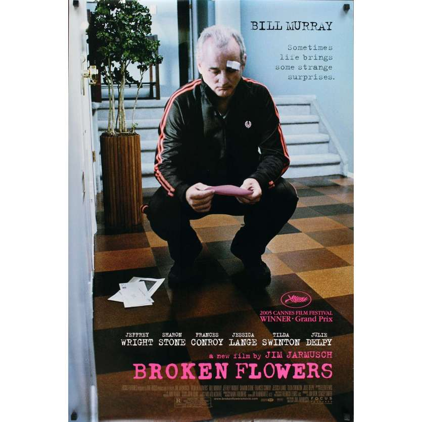 BROKEN FLOWERS movie poster 1sh '05 Jim Jarmusch, Bill Murray