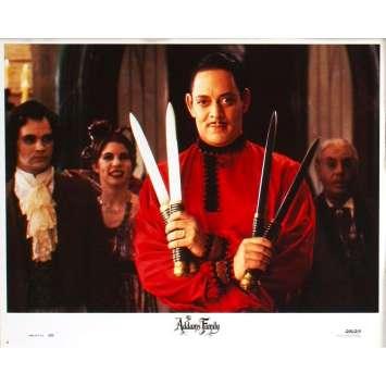 LA FAMILLE ADDAMS Photo de film N7 28x36 - 1991 - Raul Julia, Barry Sonnenfeld