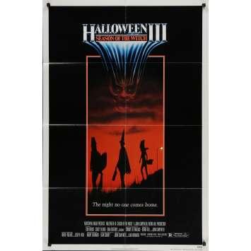 HALLOWEEN 3 LE SANG DU SORCIER Affiche de film - 69x104 cm. - 1982 - Tom Atkins, Tommy Lee Wallace